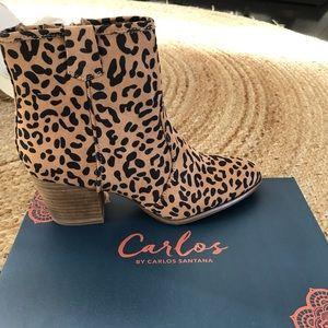 Carlos By Carlos Santana Rowan Leopard Boot